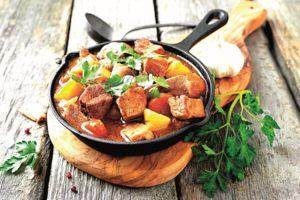 Vepřové maso s mrkví