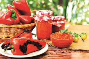 Čatní z paprik