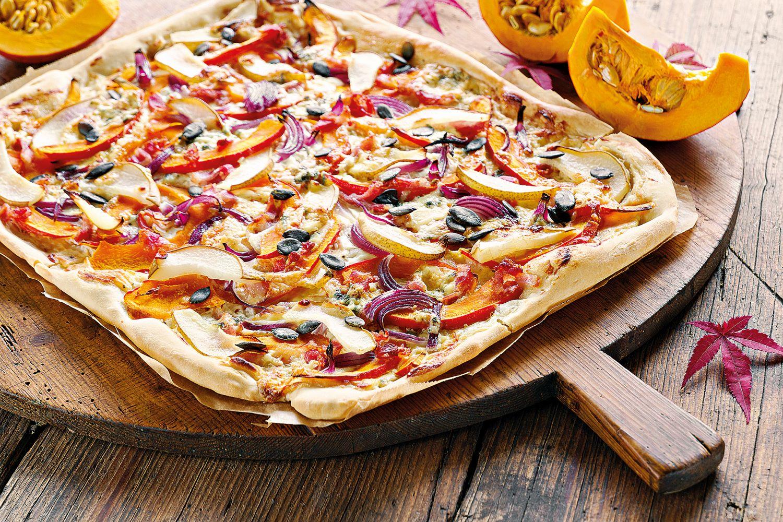 Dýňová pizza