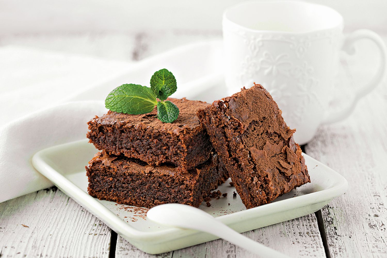 Fazolová brownies